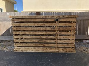 Custom Wooden Dog Crate for Sale in Pismo Beach, CA