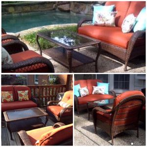 New!! Patio Furniture,Loveseat, Backyard Chairs,Outdoor Set,Coffee Table for Sale in Phoenix, AZ
