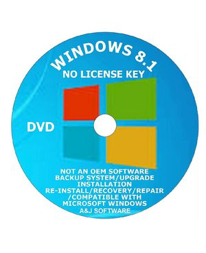 WINDOWS 8.1 DVD SUITE. 64-BIT FACTORY FRESH RECOVERY FIX REINSTALL REPAIR REPLACE RECOVERY INSTALL COMPATIBLE WITH MICROSOFT for Sale in Freehold, NJ