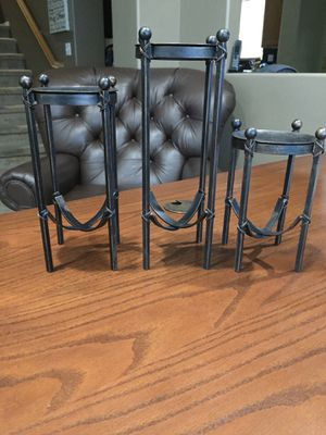 Metal candle holders for Sale in Perris, CA