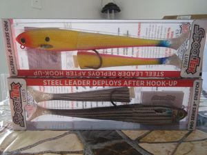 Spool tecs with tackle for Sale in Lake Worth, FL