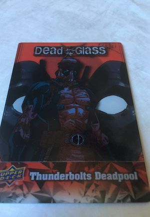 2019 Deadpool Dead Glass Chase Card #DG16 for Sale in Gardena, CA