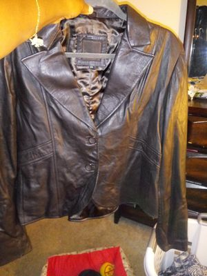 Women's Soft Leather Jacket for Sale in Raleigh, NC