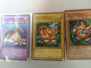Rare Yugioh Cards Thousand Dragon Plus Fiusion Cards for Sale in Sunbury, OH