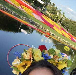 Beauty and The Beast Inspired Floral Disney Ears for Sale in West Park, FL