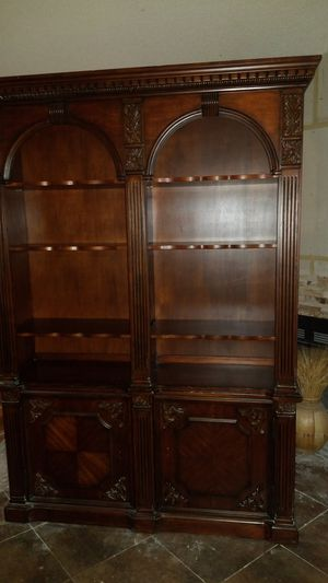 Book Case- 5 ft. wide by 16 in. deep by 7 ft 6 in. tall for Sale in Arlington, TX