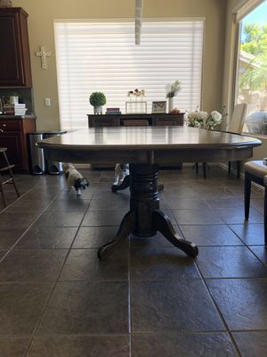 Solid Wood Dining Room Table for Sale in Gilbert, AZ