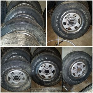 """16"""" rims with tires for Sale in Lynchburg, VA"""