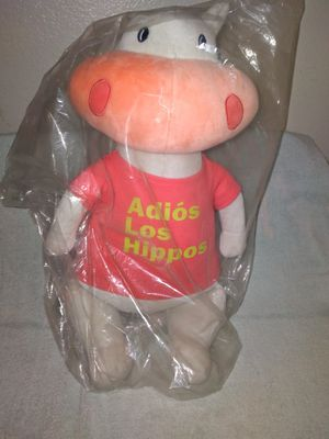 Hippo stuffed toy for Sale in Peoria, AZ
