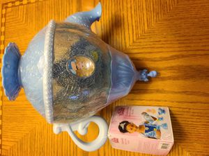 Disney Princess Cinderella 16 pieces Stack and Store Tea Pot for Sale in Jurupa Valley, CA