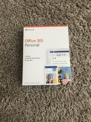 Office 365 personal for Sale in Austin, TX