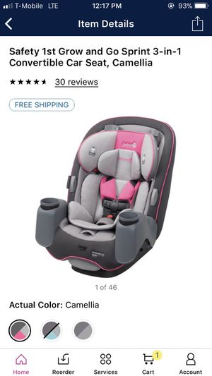 Safety 1st 3-1 car seat $100 1 LEFT !!! for Sale in Las Vegas, NV