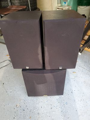 RCA subwoofer with speakers for Sale in Fruitland Park, FL