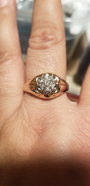 MEN 18K GOLD PLATED RING for Sale in Fairfax, VA