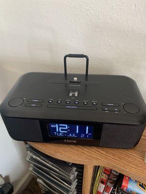 iHOMR clock, charging stand and speaker modern for Sale in Denver, CO