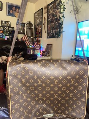 123456789101112 Louis Vuitton Abbesses Monogram Brown Coated Canvas Messenger Bag for Sale in Las Vegas, NV