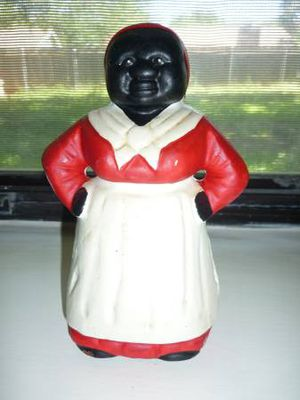 Antique Aunt Jemima Doll Bank From The 1930s for Sale in Atlanta, GA