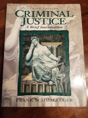Criminal Justice A Brief Introduction for Sale in Buena Park, CA