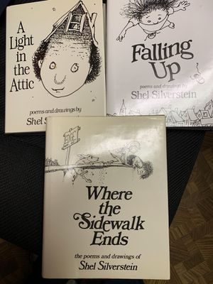 Shel Silverstein books (3) for Sale in Maryland Heights, MO