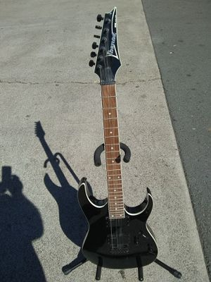 IBANEZ RGEX1...MISSING 2 STRINGS...XLNT WITH STAND for Sale in San Diego, CA