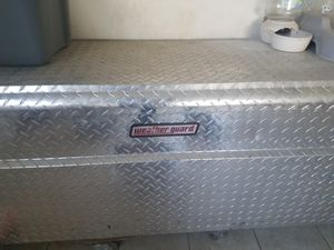 Weatherguard tool box with key for Sale in Laurel, MD