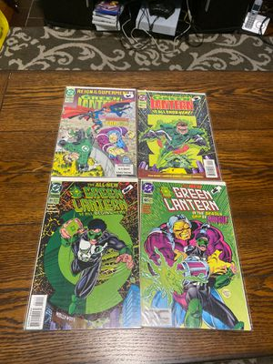 Green lantern comics for Sale in West Hartford, CT