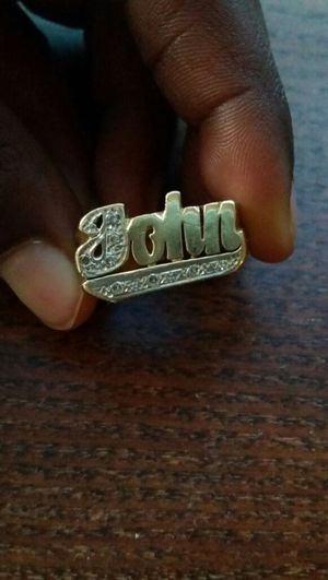 """""""JOHN"""" name ring for Sale in Reston, VA"""