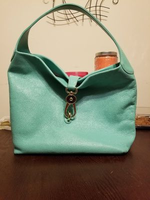 Aqua Dooney and Bourke hobo bag for Sale in Monroeville, PA