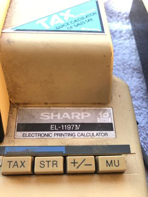 Electronic printing calculator for Sale in Fresno, CA