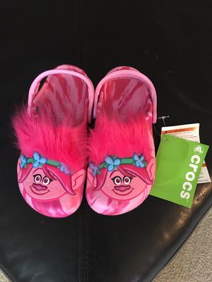 Troll girls crocs for Sale in Kirkland, WA