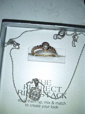 Real diamonds&Sterling silver for Sale in Wichita, KS
