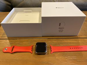 """Apple watch Series 3 42"""" with cellular and GPS for Sale in Seattle, WA"""