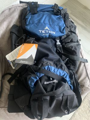 Teton Explorer 4000 hiking backpack-brand new for Sale in Goodyear, AZ