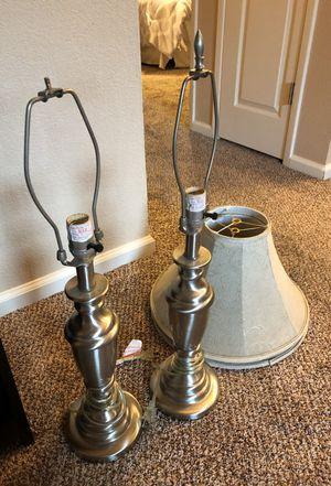 Pair of lamps for Sale in Lodi, CA