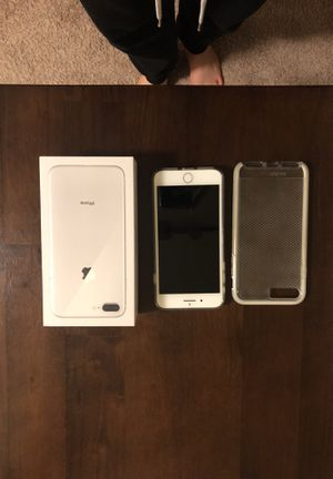 Iphone 8+ Unlocked Perfect Condition Lightly Used 64GB Silver for Sale in Alexandria, VA