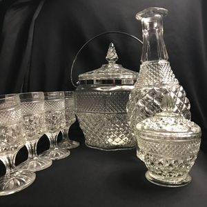 Prestige Clear Glass ware for Sale in Clifton, NJ