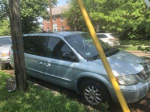 2002 CHRYSLER TOWN & COUNTRY MINI VAN $2000 obo DC INSPECTED for Sale in Washington, DC
