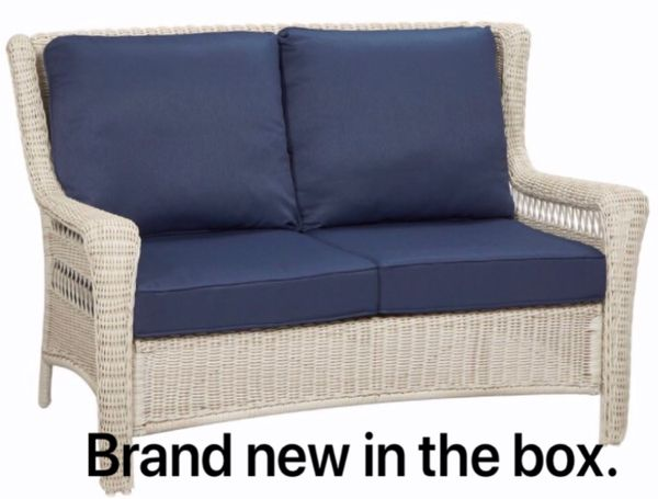 Brand new patio furniture love seat in the box. Save over $100. (Tempe)