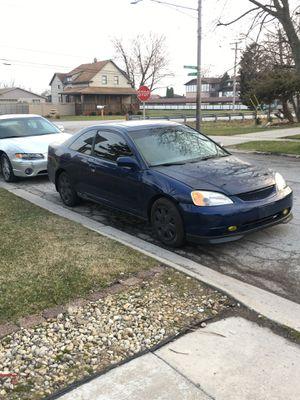 Honda Civic Ex 2002 for Sale in Peoria, IL