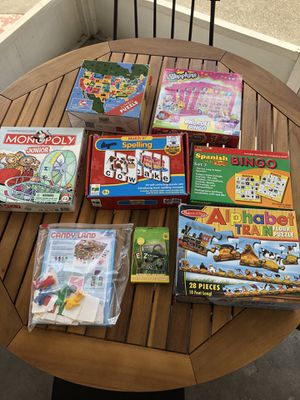 Board Games for Family Game Night! for Sale in Winter Haven, FL