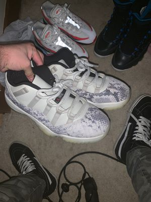 Jordan 11 snakeskin pack for Sale in Raleigh, NC