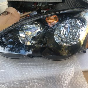 Brand New Acura RSX Black Housing Single Driver Headlight for Sale in Monterey Park, CA