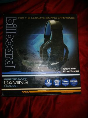 Cooling fan and gaming headphones ps3 and xbox 360 for Sale in Salt Lake City, UT