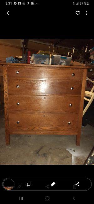 Antique oak dresser for Sale in Sammamish, WA