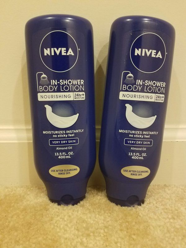 2 Nivea In shower body lotion - $8 price firm