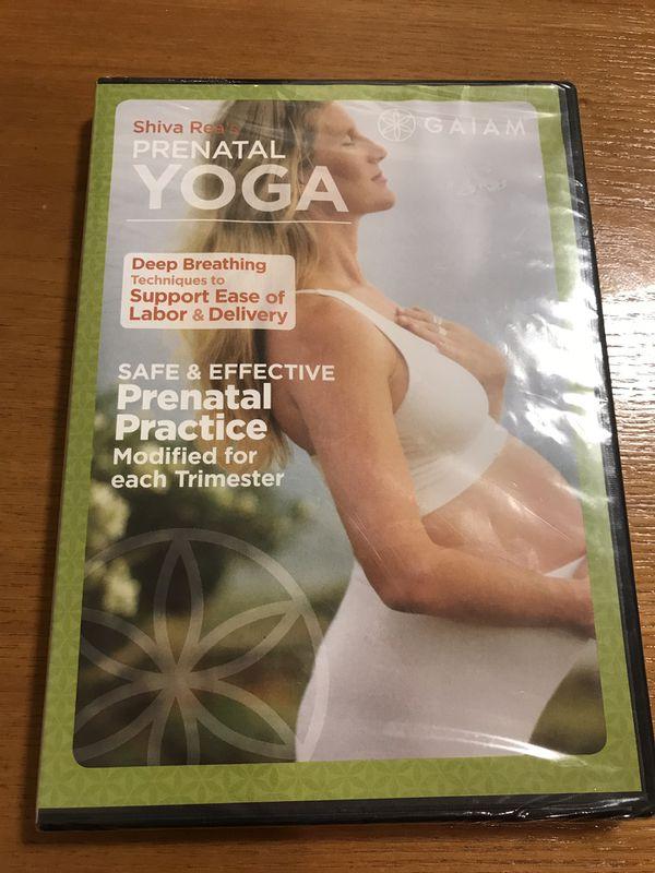 Prenatal yoga DVD - still sealed