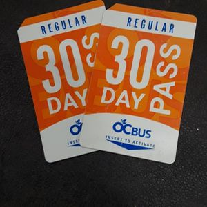 2 New 30 Day Bus Pass for Sale in Artesia, CA