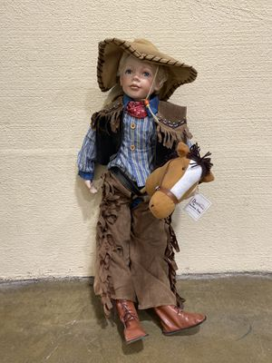 Duck House Doll - Cowboy for Sale in Raleigh, NC