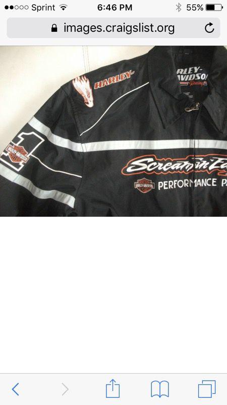 HARLEY DAVIDSON SCREAMIN EAGLE RACING JACKET NHRA RACEWAY CVO for Sale in  Costa Mesa, CA - OfferUp