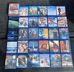 Blu-ray's Disney classics, Marvel superhero's, Matrix, 300 and more for Sale in Renton, WA